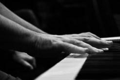Piano hands.