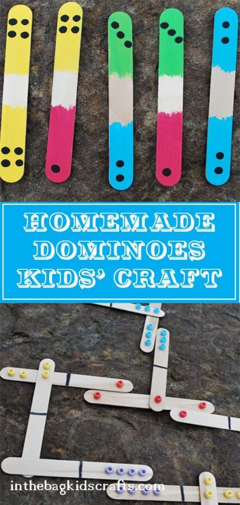 homemade dominoes