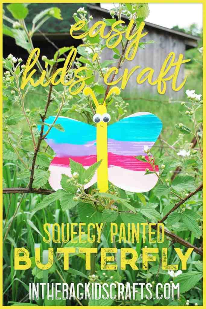 Butterfly Kids Craft