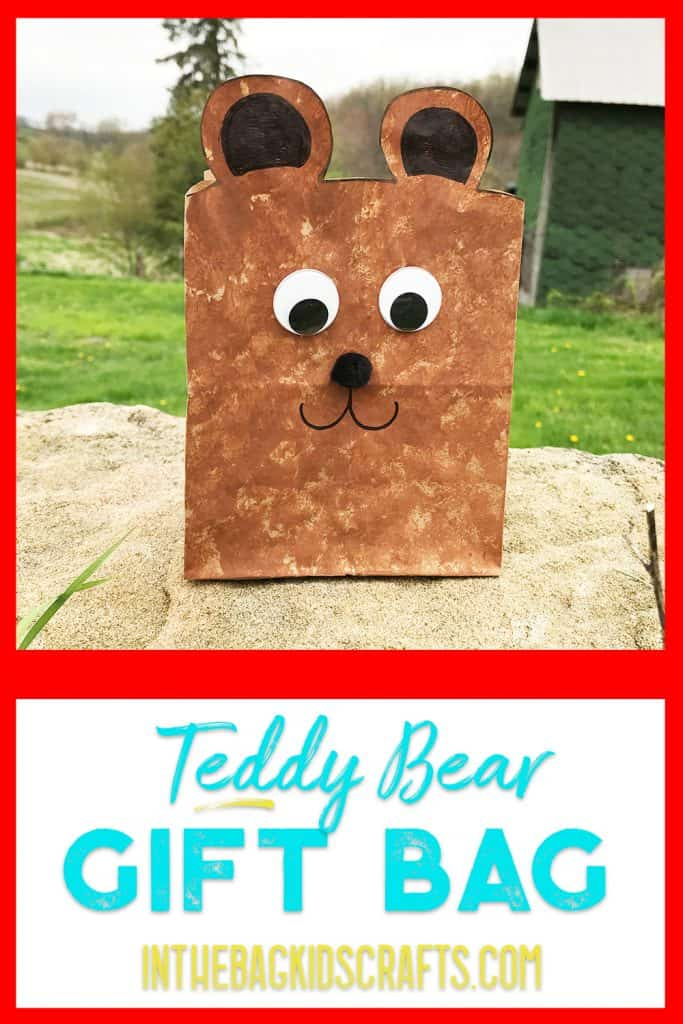 teddy bear kids craft