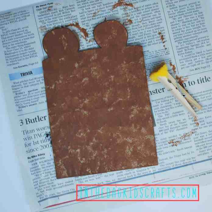 Teddy Bear Gift Bag Step 3