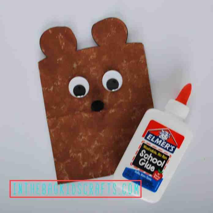 Teddy Bear Gift Bag Step 4