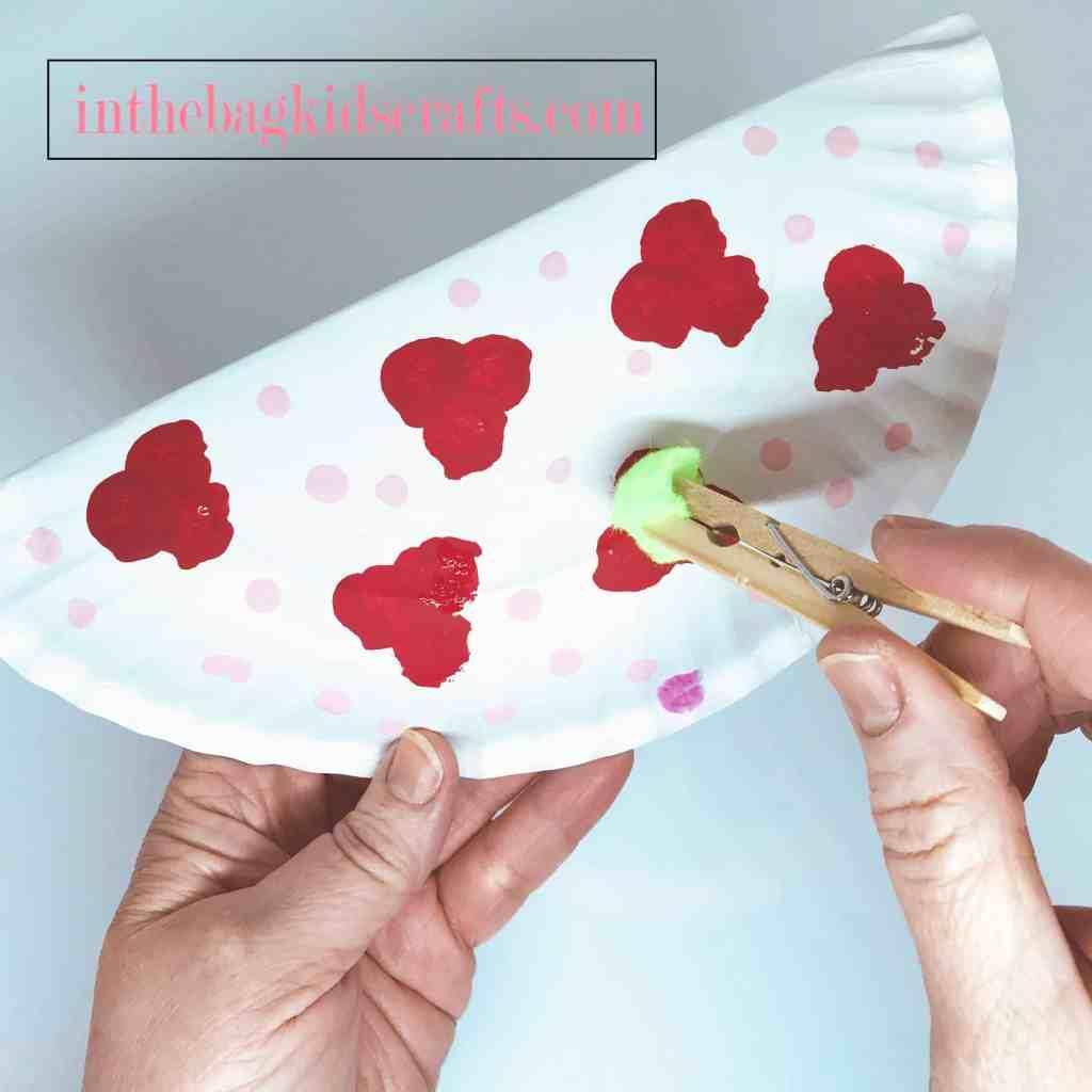 Easy Kids' Craft Rocking Love Bird Step 3
