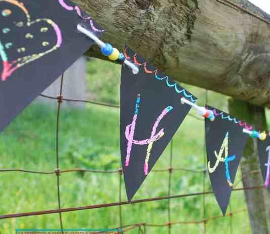 scratch art banner