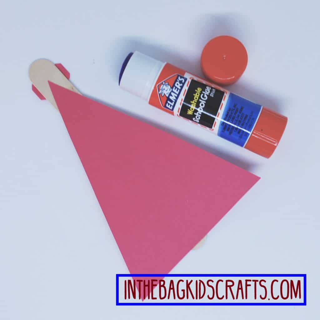 father's day easy kids' craft: super hero card step 2c