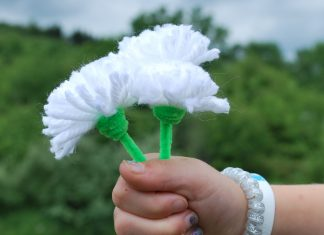 dandelion craft for kids