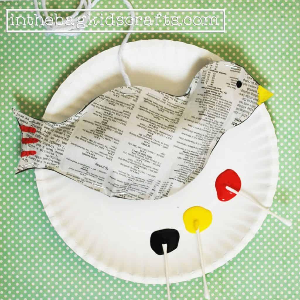 Easy Kids Craft Songbird Step 7