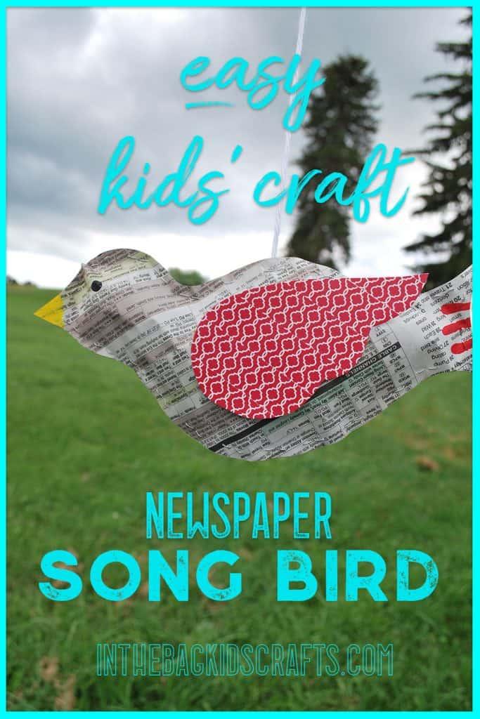 Newspaper Songbird