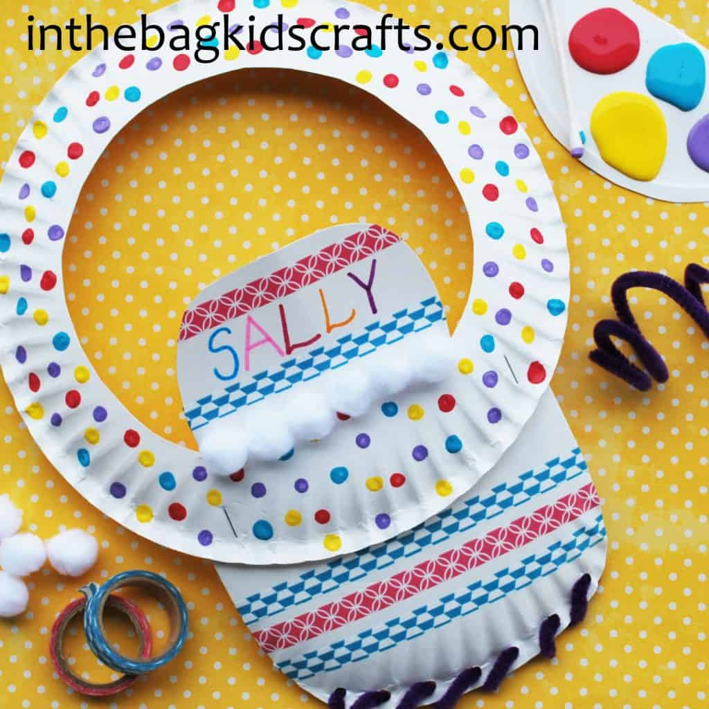 Summertime Kids' Craft Sun Visor Step 5