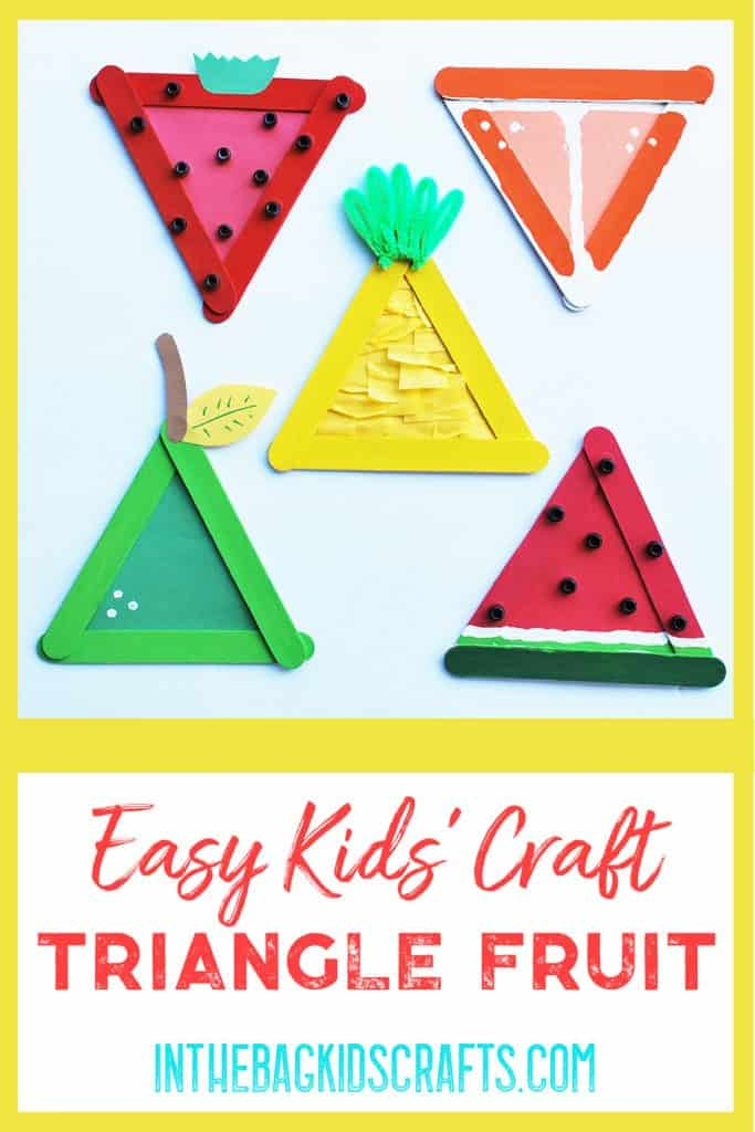 Easy Summertime Kids Craft Fruit Basket