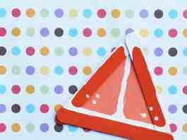 Easy Summertime Kids' Craft Orange Slices