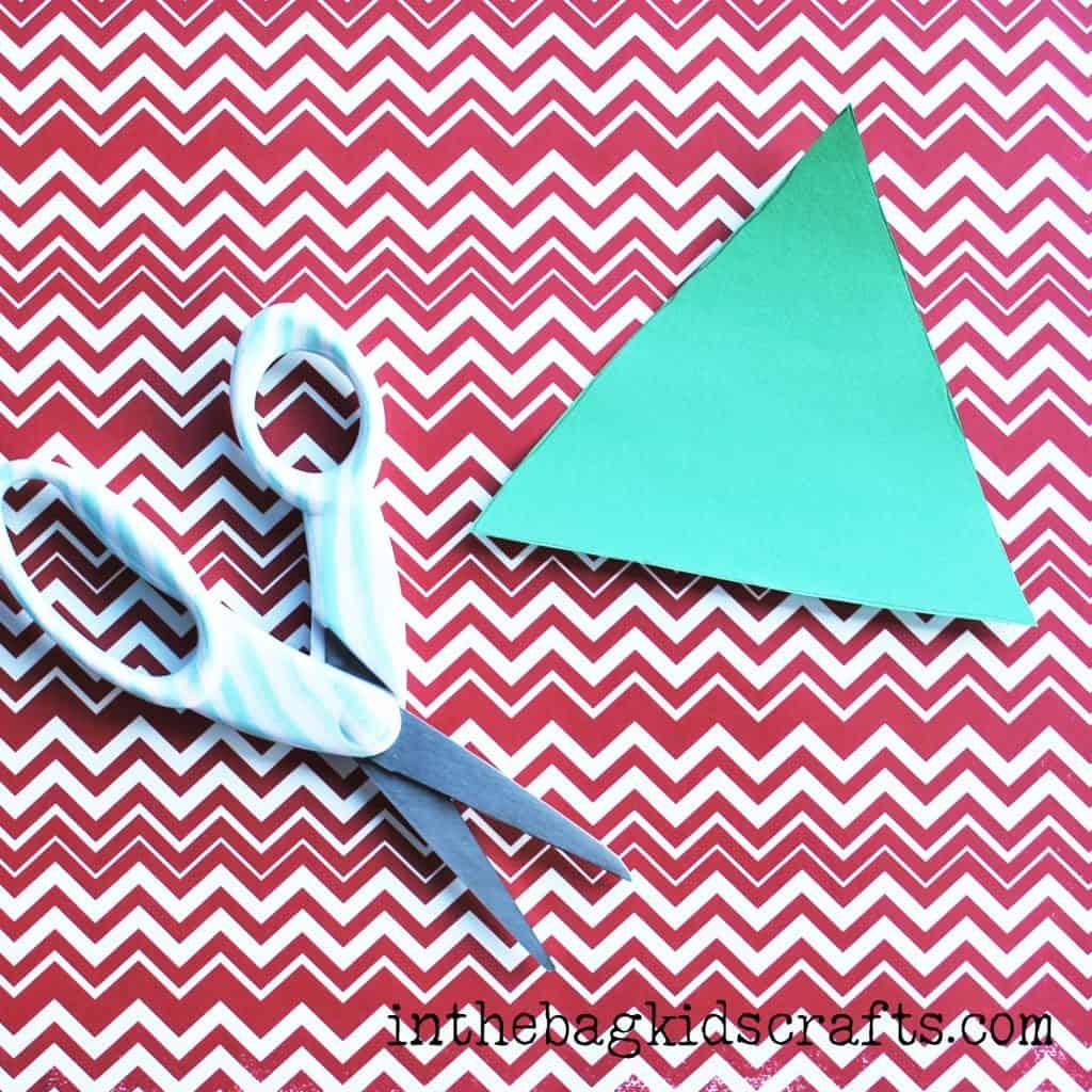 Easy Summertime Kids Craft Pear step 4