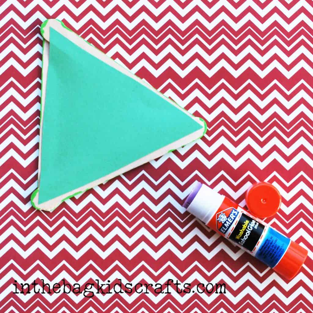 Easy Summertime Kids Craft Pear step 5