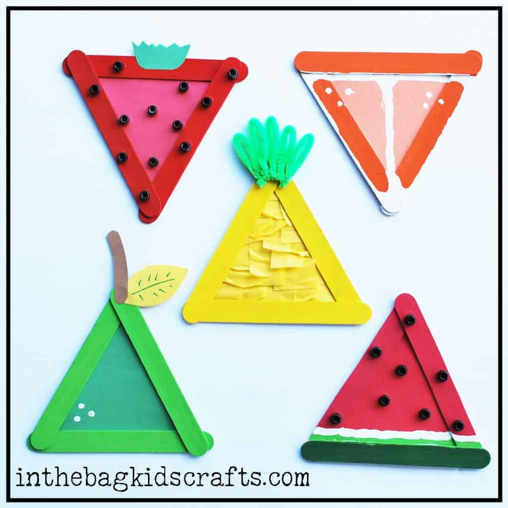 Triangle Summer Fruit Collection