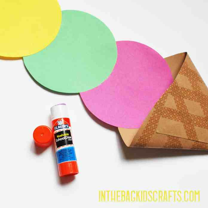 ice cream cone kids craft