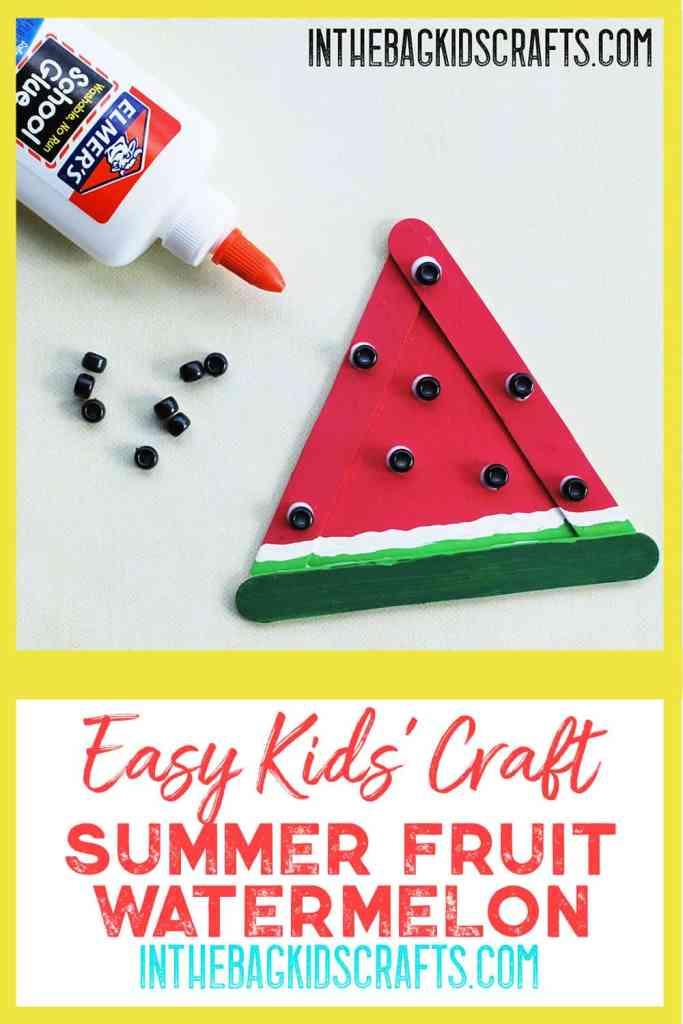 Watermelon Kids Craft