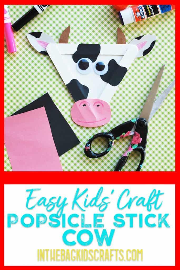 Cow Kids Craft