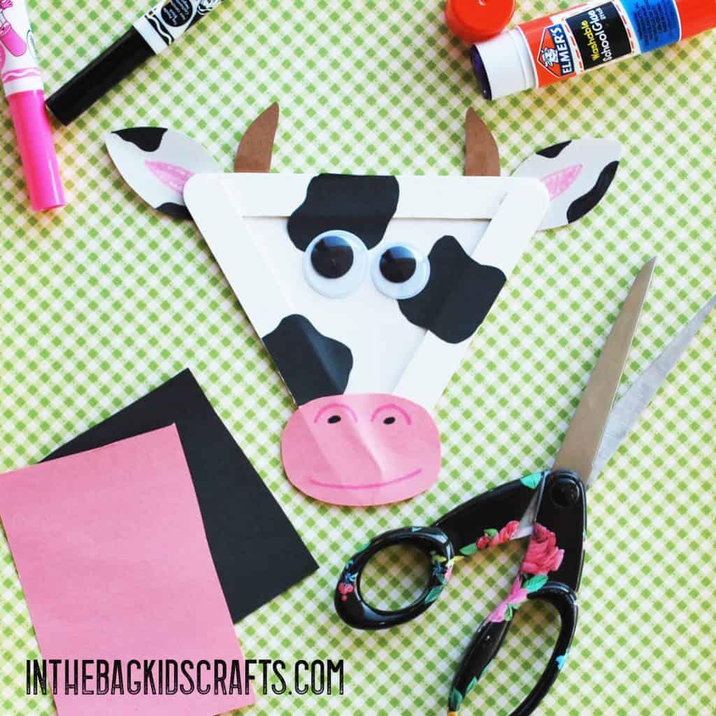 cow kids craft step 5