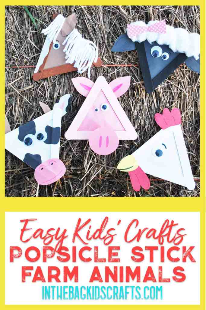 barnyard animals kids crafts