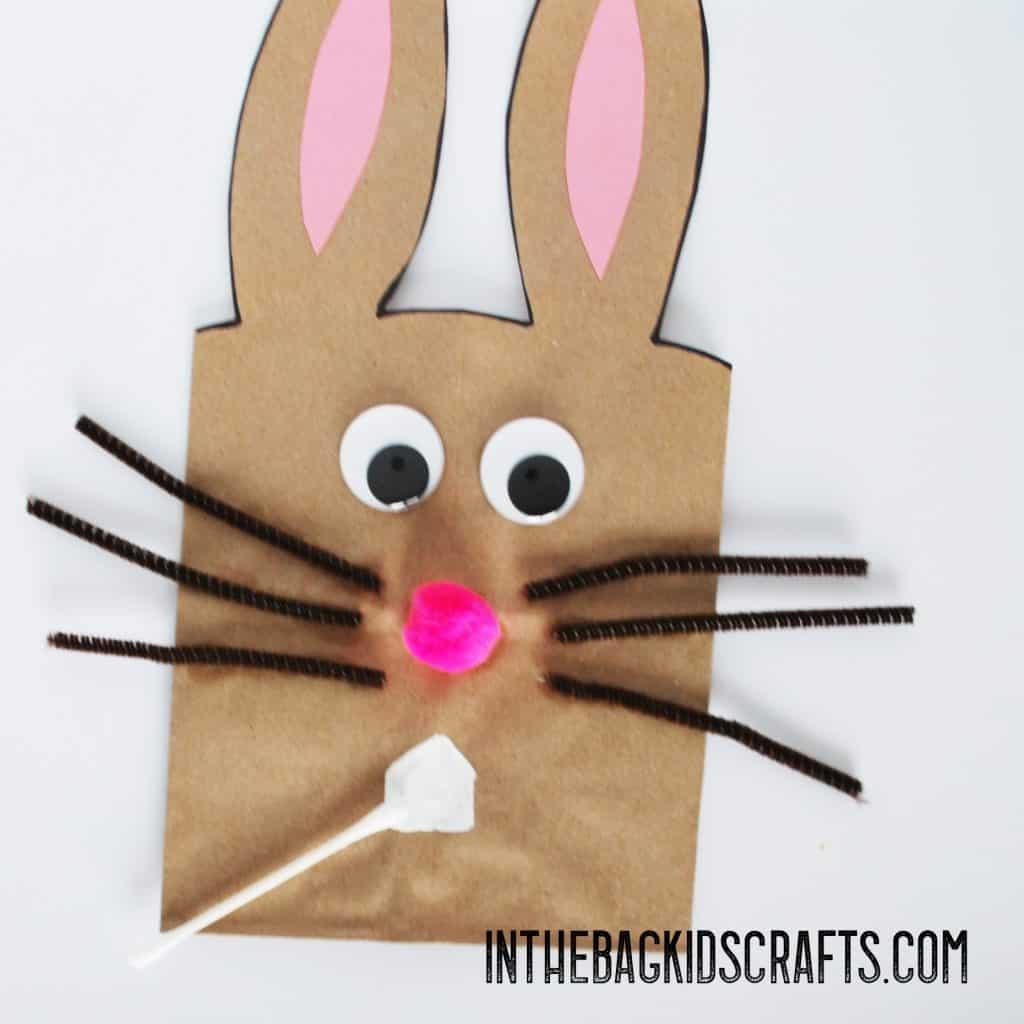 bunny gifr bag kids craft step 4a