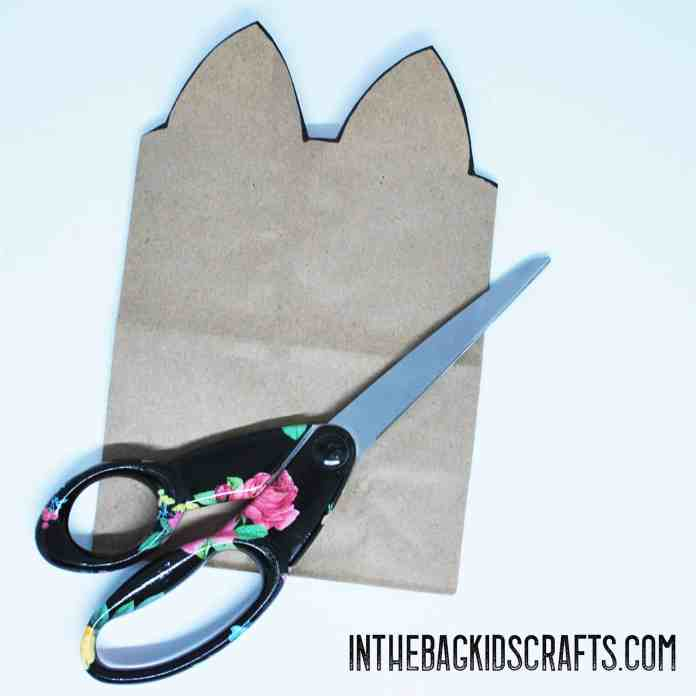 kitty gift bag kids craft