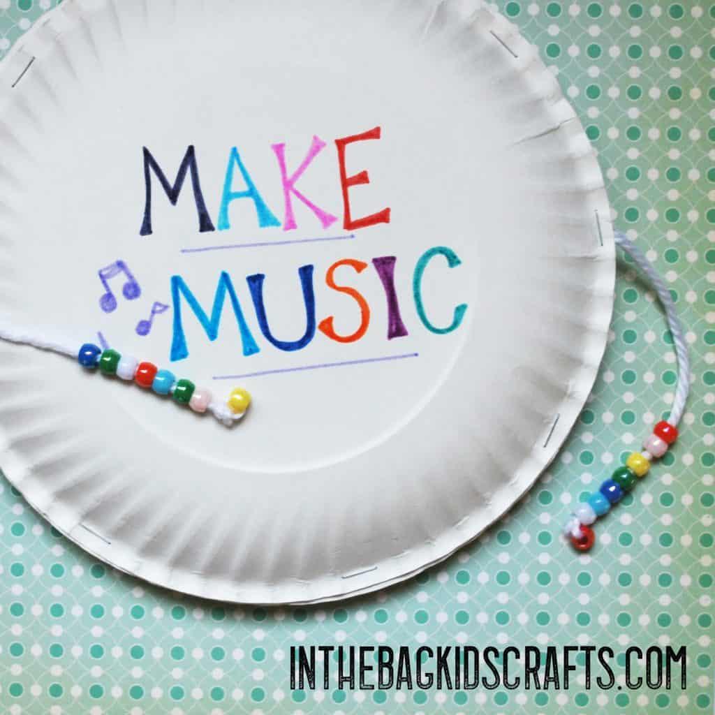 musical instruments kids crafts