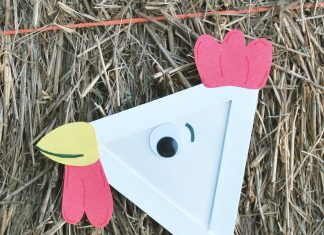 rooster kids craft