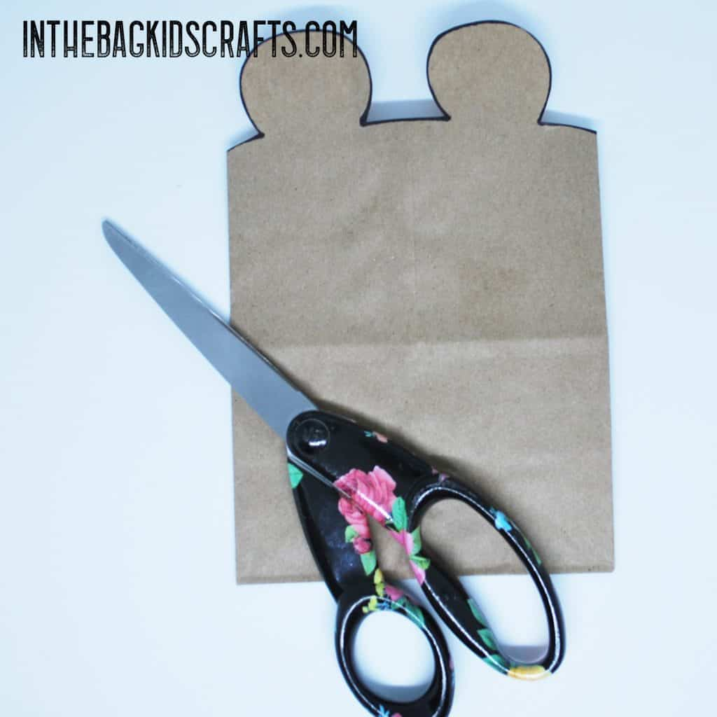 bear gift bag step 2