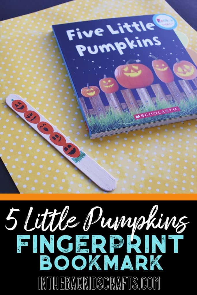 5 Little Pumpkins Kids' Craft