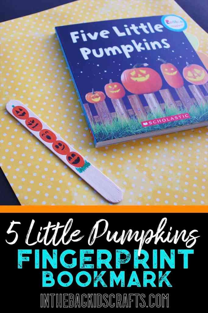 5 Little Pumpkins Kids' Craft