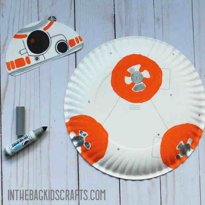 BB8 CRAFT FOR KIDS