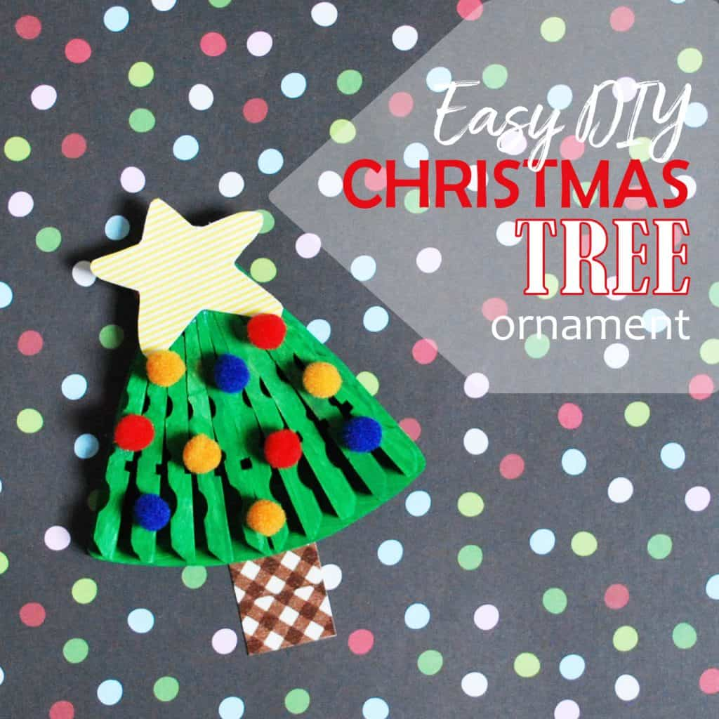 Activities to Develop Fine Motor Skills Christmas Tree Ornament