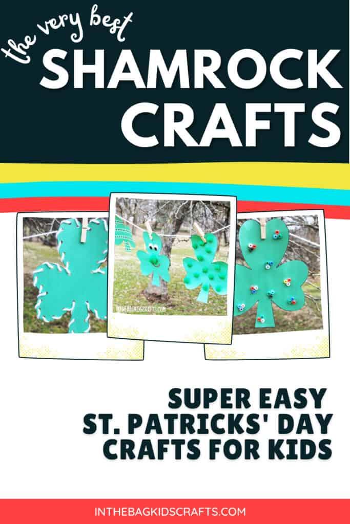 CLOVER CRAFTS FOR ST. PATRICKS DAY