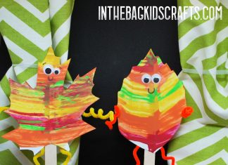 Fall Family Fun Autumn Leaf Puppets