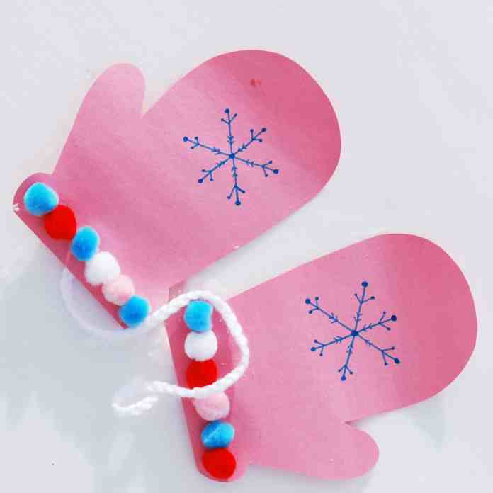 Mitten Craft for Kids