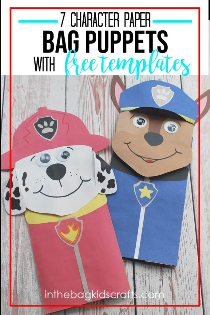 PAW PATROL PAPER CRAFTS FOR KIDS