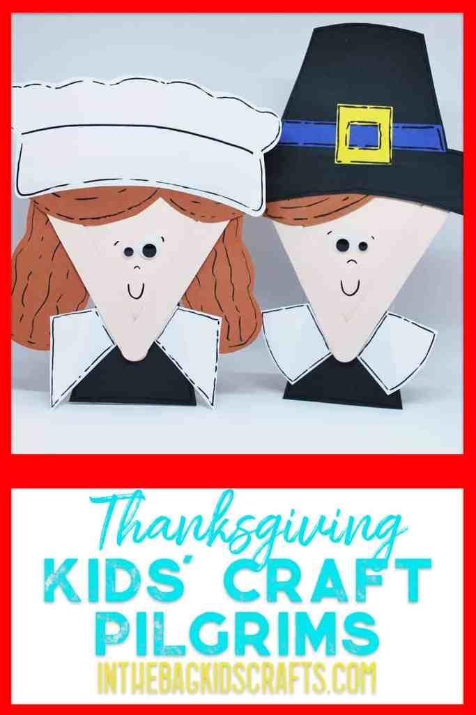 pilgrim kids craft