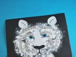 EASY PAPER TIGER CRAFT FOR KIDS