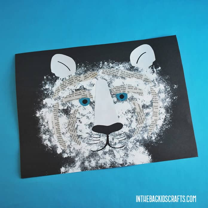 EASY PAPER TIGER CRAFT FOR KIDS