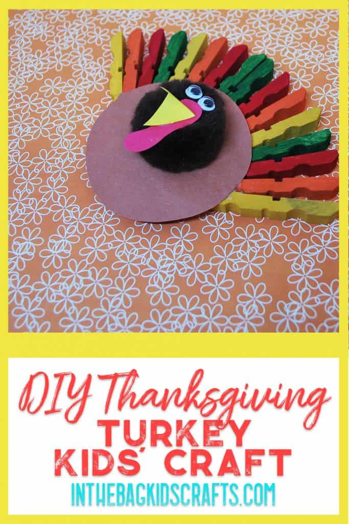 Thanksgiving Turkey Kids Craft