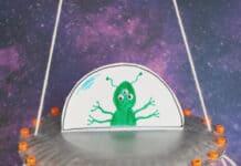 PAPER PLATE SPACESHIP CRAFT