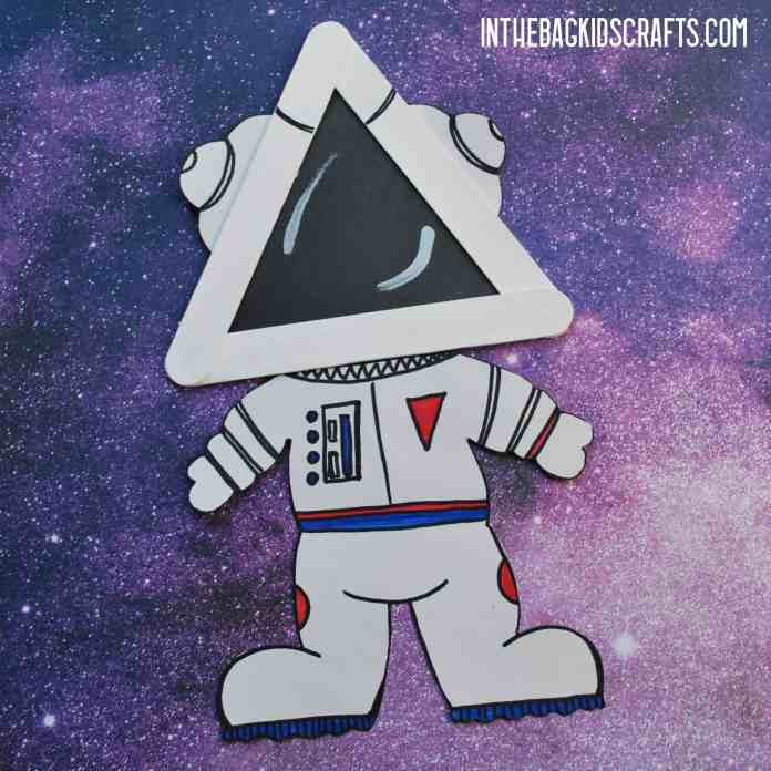 DIY SPACE CRAFTS FOR KIDS ASTRONAUT