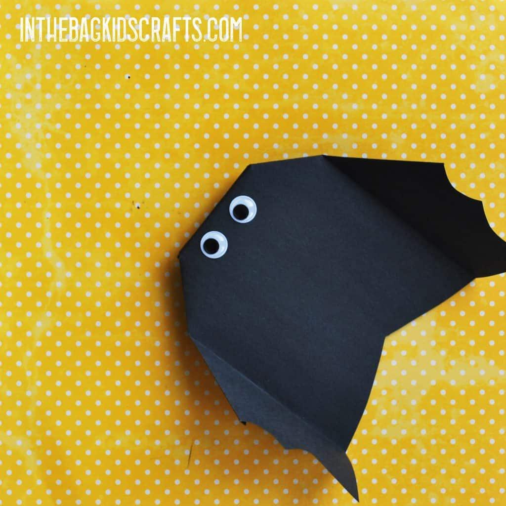 Halloween Kids' Activity:  Bat Glider