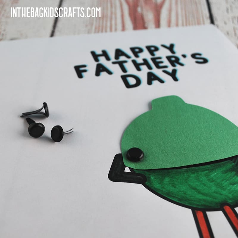 FATHER'S DAY CARD IDEAS STEP 4