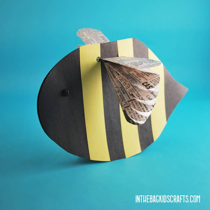 EASY BEE CRAFT FOR KIDS