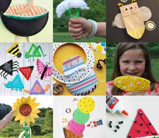 EASY SUMMER CRAFTS FOR KIDS