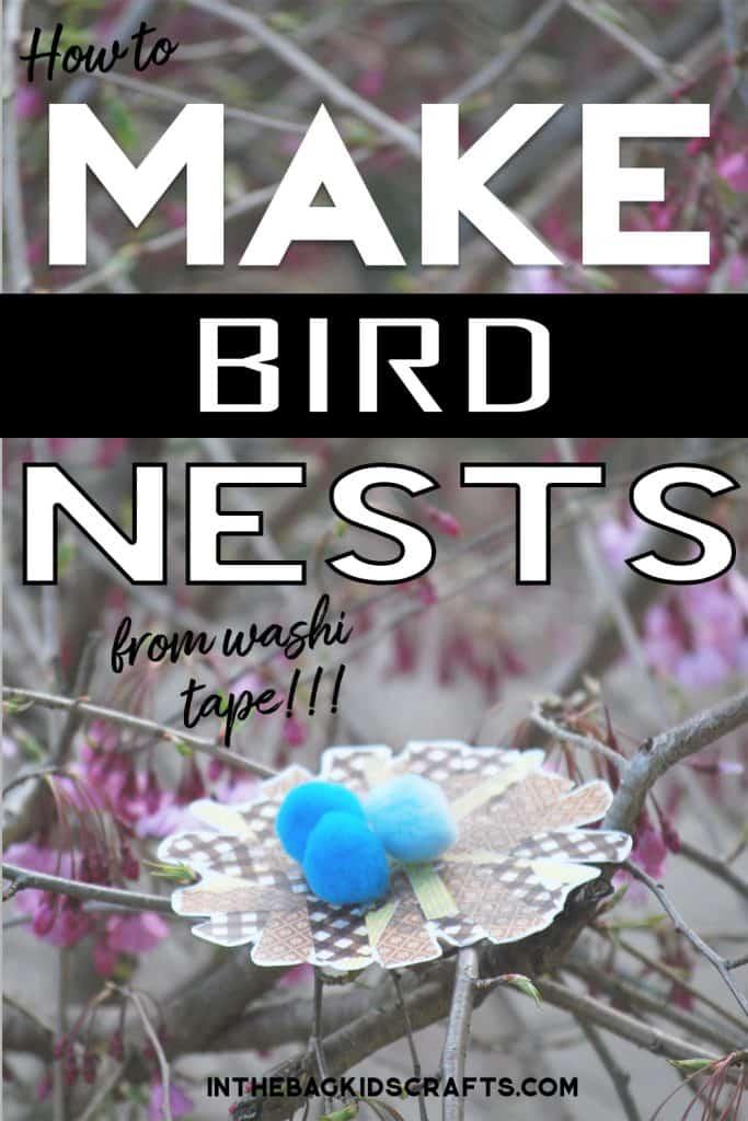 BIRD NEST CRAFT ACTIVITY