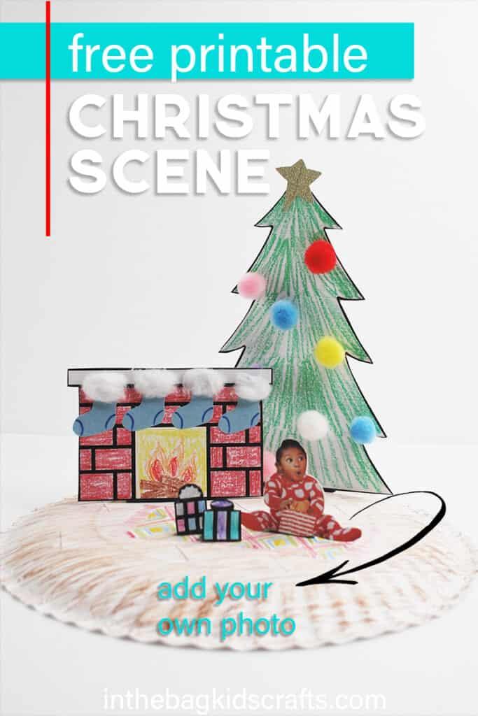 FREE PRINTABLE CHRISTMAS CRAFT FOR KIDS