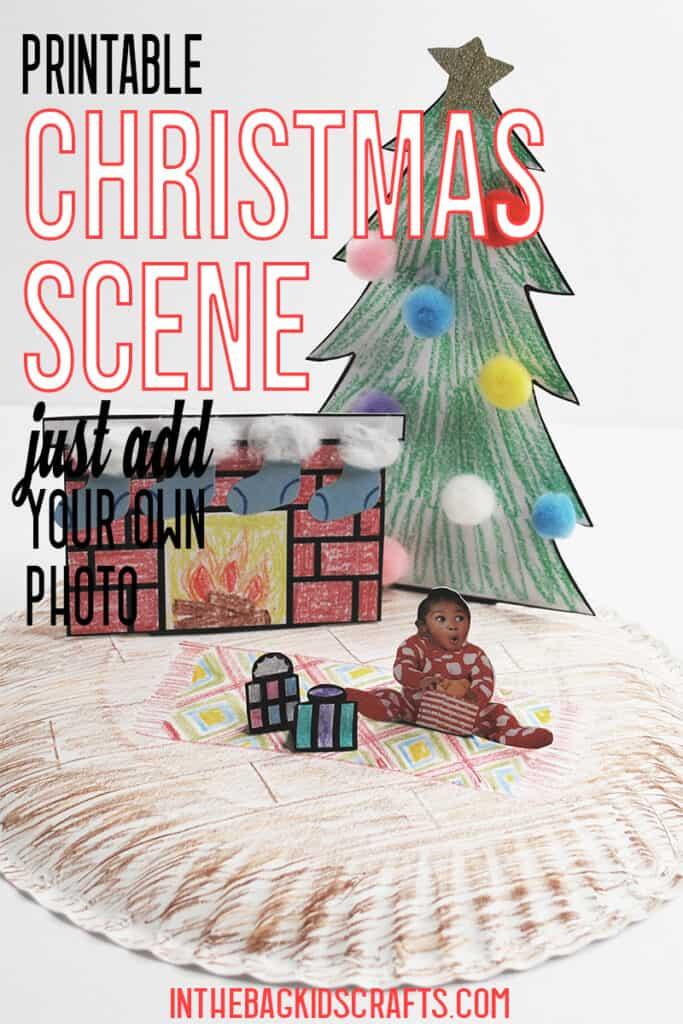 FREE PRINTABLE CHRISTMAS CRAFT