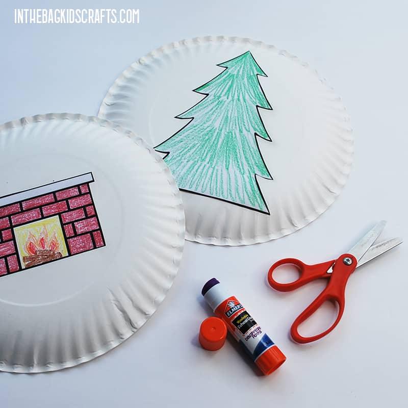 FREE PRINTABLE CHRISTMAS CRAFT STEP 3